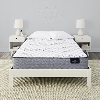 "Serta Perfect Sleeper 12.5"" Trelleburg II Extra Firm Innerspring Mattress and Box Spring Mattress Size: California King, Box Spring Height: Low"