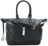 Diesel zip detail tote - women - Calf Leather - One Size