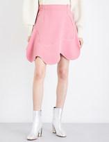 Sportmax Blasy mini swirl crepe skirt