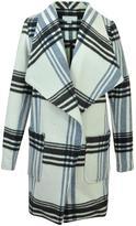 Katherine Barclay Plaid Pea Coat