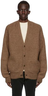 Remi Relief Brown Alpaca Natural Cardigan