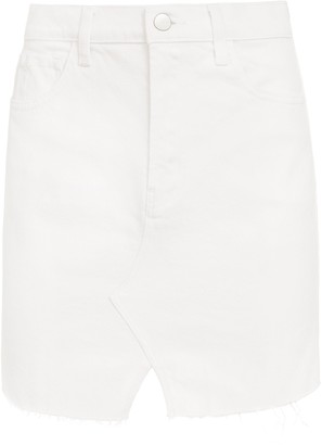 J Brand Jules High-Rise Stretch Denim Skirt