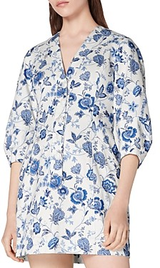 Derek Lam 10 Crosby Ottilie Floral Print Dress