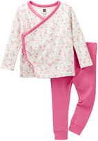 Tea Collection Aiuola Outfit (Baby Girls)