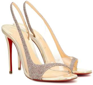 Christian Louboutin Optisling 100 leather sandals