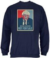 Old Glory Election 2016 Bernie Sanders Not For Sale Navy Adult Sweatshirt