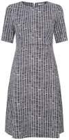 Peserico Printed A-Line Dress