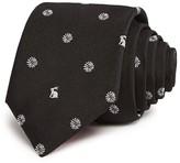 Paul Smith Medallion Bunny Neat Skinny Tie