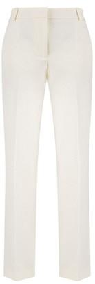 Klaudia Karamandi Dana Off White Pleated Trousers