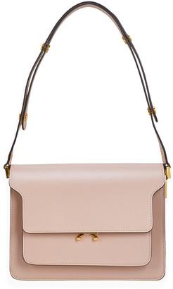 Marni Trunk Leather Crossbody Bag