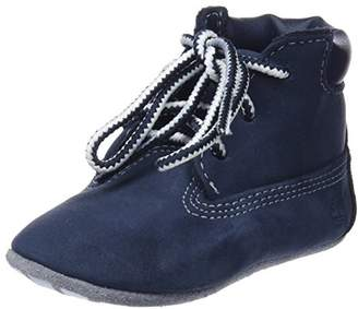 Timberland Crib Bootie with Hat, Unisex Baby's Birth Shoes Boots, Blue (Navy Naturebuck), Child UK (14.5 EU)