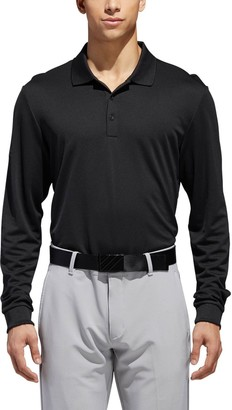 adidas Men's Long Sleeve Polo