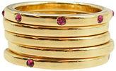Kensie Studded Ring- Set of 5