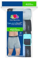 Fruit of the Loom Men's Beyond Soft Knit Boxer 5pk Assorted Underwear