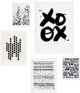 DENY Designs Copenhagen 5-Piece Wall Art Print Set