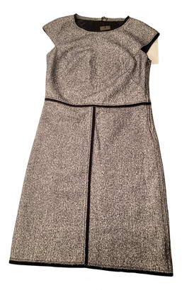 Bottega Veneta Grey Wool Dresses