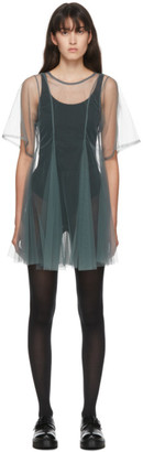 Molly Goddard SSENSE Exclusive Grey Celeste Dress
