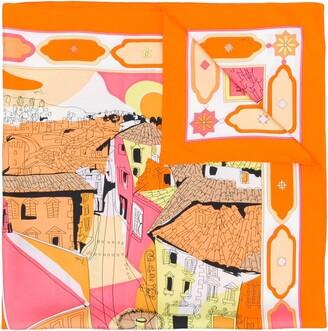 Emilio Pucci Florence-print scarf