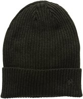 French Connection Men's Ribbed Beanie