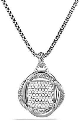 David Yurman Infinity Large Pendant with Diamonds