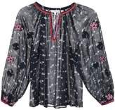 Ulla Johnson floral print peasant blouse