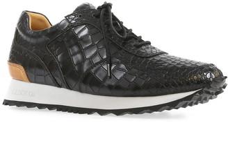 Australia Luxe Collective Dash Crocodile Embossed Genuine Shearling Lined Sneaker