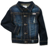 Hudson Toddler Boys) Distressed Denim Jacket