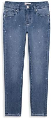 Hudson Jeans Girl's Betsey Rhinestone Skinny Ankle Jeans