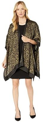 American Rose Ilana Leopard Print Kimono