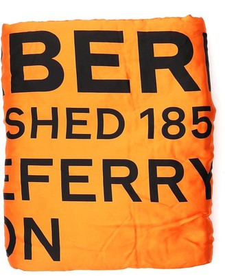 Burberry Horseferry Print Puffer Scarf