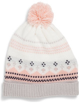 David Jones Fair Isle Beanie