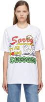 Thumbnail for your product : Online Ceramics SSENSE Exclusive White 'All Booked' T-Shirt
