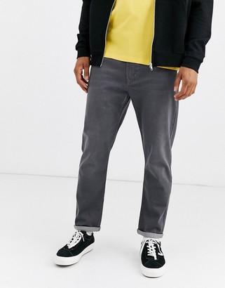 Brooklyn Supply Co. Brooklyn Supply Co slim fit jeans in grey wash