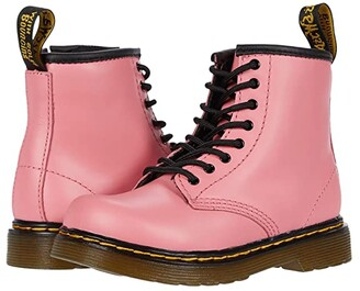Dr. Martens Kid's Collection 1460 (Toddler) (Acid Pink) Girl's Shoes