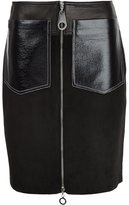 Edun patch pocket skirt