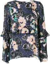 See by Chloe floral printed blouse