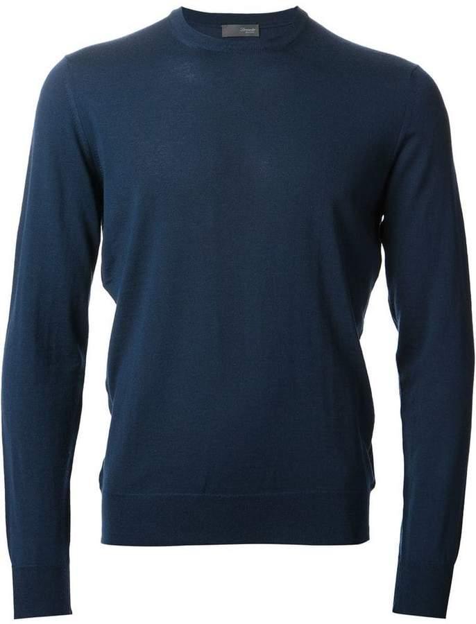 Drumohr round neck knit sweater