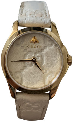 Gucci G-Timeless Gold Steel Watches