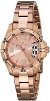 Invicta Women's 15120 Specialty 18k Rose Gold Ion-Plated Stainless Steel Watch