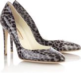 Winona shell leopard-print pumps