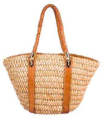 3c6fefcddcabeb Lined Straw Tote - ShopStyle