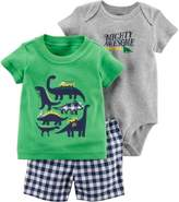 Carter's Baby Boys 3-pc. Mighty Awesome Dino Layette Set