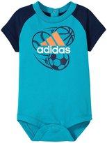 adidas Rise To Shine Bodyshirt (Baby) - Teal - 3 Months