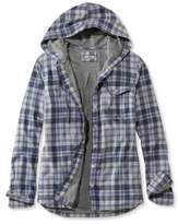 L.L. Bean Jersey-Lined Flannel Shirt, Hoodie Plaid