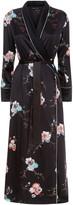 Meng MENG Black Shawl-collared Robe