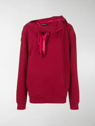 Y/Project Scarf Detail Sweatshirt