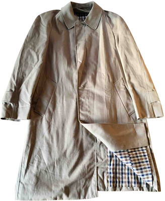 Aquascutum London Beige Cotton Coats