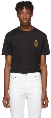 Dolce & Gabbana Black French Wire Crest T-Shirt
