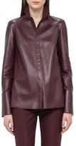 Akris Women's Nappa Leather Shirt