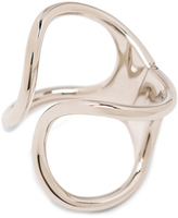 Balenciaga Brass Simple Cage Bracelet